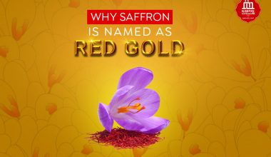 red gold saffron
